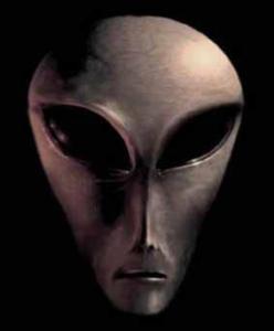 Alieno grigio alto