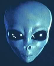 Alieno grigio blu