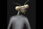 Alieno insettoide cavalletta