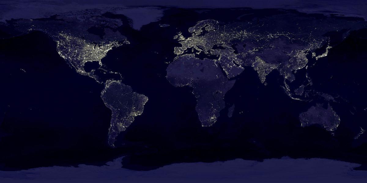Blackout globale previsto per la fine del 2012