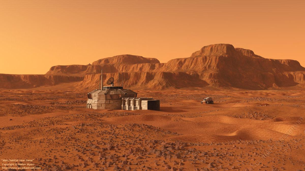 Captain Kaye, l'irriducibile marine della base di difesa su Marte